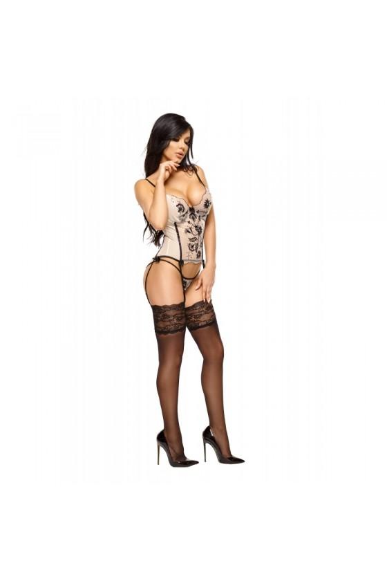 Savannah Guêpiere - Nude et Noir
